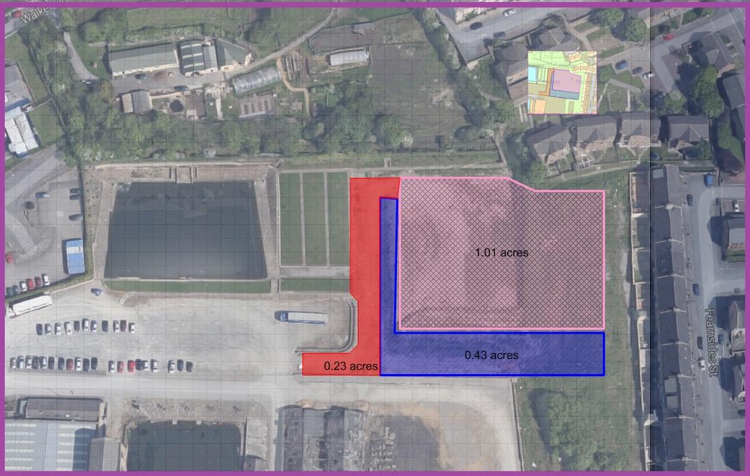 Secure Yard/Compound  Whetley Mills, Thornton Road  Bradford, BD8 8LQ