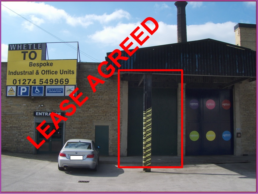 Works/Warehouse Building – Unit 21 A – Whetley Mills – LEASE AGREED