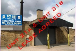 Unit 21a & 21b Lease Agreed